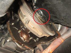 ランクル60 オイル漏れ修理