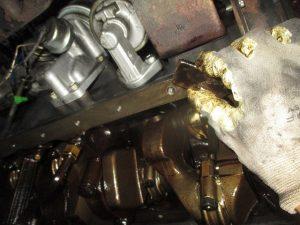 ランクル60 エンジン清掃