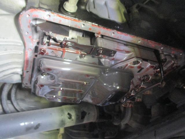 オートマチックオイル漏れ修理